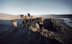 Kazajos,   Fotografo Jimmy Nelson