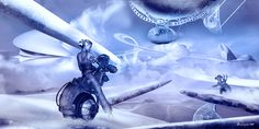 Cosmic Icebikers Science Fiction Art, Cosmic, Spaceship, Sci Fi, Digital, Painting, Graphics, Space Ship, Science Fiction