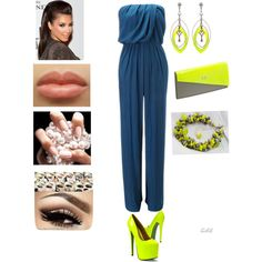 """""""Summer Night Fashion"""" by zal-styles on Polyvore"""