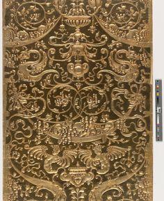 Embossed Wallpaper Sample | 2008.6.99 -- Historic New England