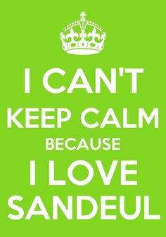I CAN'T KEEP CALM BECAUSE I LOVE SANDEUL FROM B1A4!
