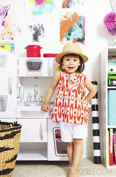 Great child's bedroom/playroom ideas: alisaburke: a peek inside Lucy's playroom