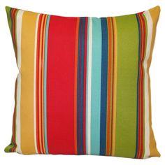 Westport Indoor/Outdoor Pillow in Garden