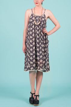 Shop our To Market Midi Dress by Comme Toi online - Minx - Clothe, Adorn, Empower, Provide