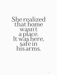 YES! Love being in my sweet hubby's arms,there is absolutely  no other place I'd rather be! ❤️you,Jeff!