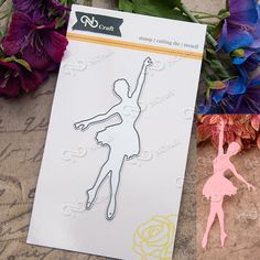 NCraft Metal Cutting Dies N28 Scrapbook Paper Craft Decoration dies scrapbooking ballet dancing girl