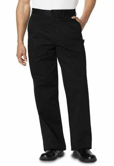 Dickies classic chef dress pant Style: DC16 in black