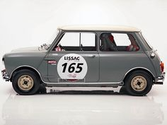 1964 Austin Mini Cooper S Rally Maintenance/restoration of old/vintage vehicles… Mini Cooper Classic, Mini Cooper S, Classic Mini, Classic Cars, Austin Mini, Austin Cars, Mk1, Service Secret, Automobile
