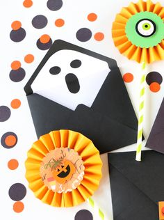 How to Make Halloween Envelopes With Spooky Liners   Happy Crafting   Blitsy