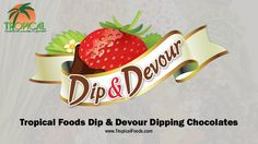 Tropical Foods Dip & Devour Dipping Chocolates are perfect for any event! Get all the info here- #Sweets #Chocolate  Be Sure to Check out of Facebook page for company news, recipes, and updates from our website, and blog!  www.facebook.com/tropicalfoods www.tropicalfoods.com