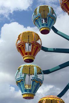 luluzinha kids ❤ parque de diversões - Carousel