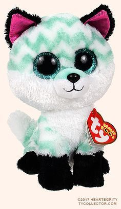 Piper the Fox Ty Beanie Boos Exclusive Beanie Boo Dogs, New Beanie Boos, Ty Beanie, Beanie Babies, Ty Stuffed Animals, Baby Animals, Cute Animals, Ours Boyds, Ty Peluche