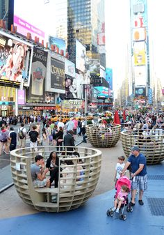 MEETING BOWLS  NY Times Square
