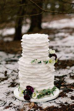 Mariages d'hiver: 20 idées déco | Les idées de ma maison Photo: ©Jo Bradbury #idees #deco #mariage #hiver #inspiration