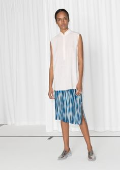 & Other Stories   Pouring Rain Pencil Skirt