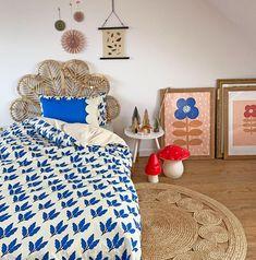 Duvet Cover - Blue leaves reversible organic cotton duvet cover Bed Sizes, Toddler Bed Duvet, Cool Kids Rooms, Childrens Beds, Blue Leaves, Duvet Bedding, Printed Cushions, Cotton Bedding