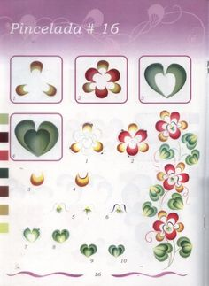 Рисуем цветы 4. Обсуждение на LiveInternet - Российский Сервис Онлайн-Дневников