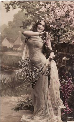 "madness-and-gods: ""Vintage French postcard, Edwardian Lady, early 😍 "" Glamour Vintage, Pin Up Vintage, Vintage Girls, Vintage Beauty, French Vintage, Vintage Fashion, Vintage Glamour Photography, Edwardian Fashion, Fotografia Retro"