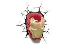 Sometimes you gotta run before you can walk. Just be sure to watch out for walls! This Iron Man 3D light up decal will make you feel like you are part of the action!