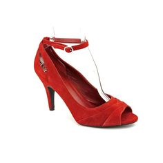 INC International Concepts Merry Womens Size 10 Red Leather Pumps Heels Shoes This shoes / sandals / boots style name or model number is Merry. Color: Red. Material: Leather. Measurements: 4.25 heel. Width: M.  #INC_International_Concepts #Shoes