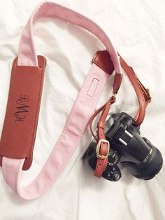 Fotostrap is the best camera strap I've purchased. I am loving the blush color + my monogram!