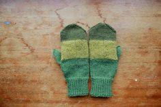 green mittens.