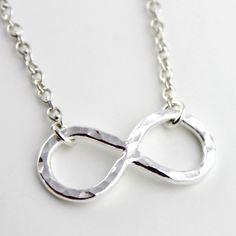 Infinity Symbol Necklace by Punky Jane