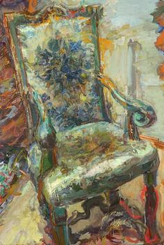 Catherine Goodman: The Chair at Rossetti 2010-12 - still life quick heart