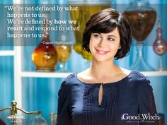 I wanna be like Cassie Nightingale when I grow up. Hallmark Good Witch, The Good Witch Series, Witch Quotes, Positive Vibes Quotes, Catherine Bell, Tv Show Casting, Movies And Series, Hallmark Channel, Nightingale