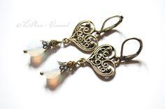 Ohrringe - ♥ Wild Heart ♥ Ohrringe - ein Designerstück von LiAnn-Versand bei DaWanda