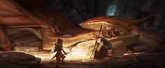 ArtStation - Keeper of the Catacombs , Tim Mcburnie
