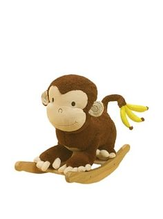61% OFF Rockabye Mocha the Monkey Rocker