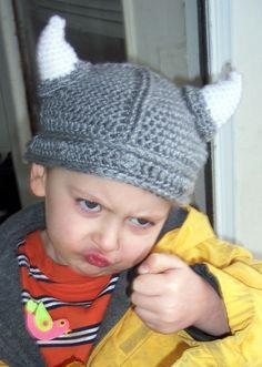 Fierce Viking Hat by karenswimmer on Etsy, $32.00