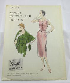 VCD 804 Dress 1954 Sz12 Very Good c/c sld 17.15+3.39 2bds 3/5/17