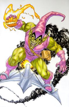 Green Goblin by David Yardin