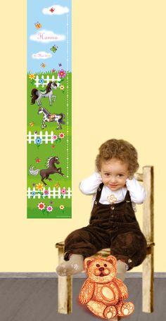 ♥ niedliche Kindermesslatten - individualisierbar