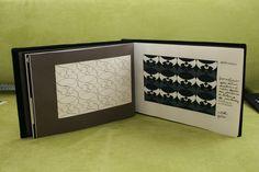 Visuaalinen suunnittelu, 9 op, osa 1/3. Käsin tehty kirja: Luonnon muoto, Dracaena marginata (lohikäärmepuu). Arvosana: 4. Muotoiluinstituutti, 2002–2006, viestinnän koulutusohjelma, graafinen suunnittelu. © Natasha Varis, 2004.