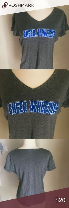 Cheer Athletics Blinged T-Shirt. VGUC Cheer Athletics Tops Tees - Short Sleeve