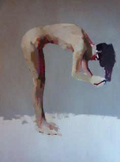 "Saatchi Online Artist Phil Tyler; Painting, ""Hair"" #art"