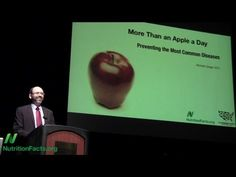 More Than an Apple a Day: Preventing Our Most Common Diseases  You need to set aside time to see this and to share it! Dr.Michael Greger should be given a Nobel Prize for his caring work to improve health.