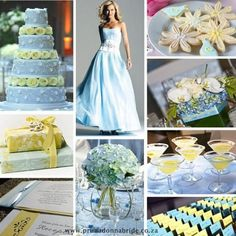 Mellow Yellow Wedding Color Palettes  - Weddbook