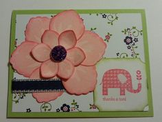 Build a blossom punch and patterned occasions stamp set with cheerful treat dsp from stampin up