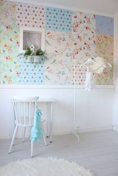 Papiers peints on pinterest cole and son wallpapers and stig lindberg - Papier peint patchwork ...