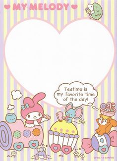 Kawaii memo paper - Sanrio - My Melody Sanrio Wallpaper, Hello Kitty Wallpaper, Little Twin Stars, Keroppi, Hello Kitty My Melody, Kawaii Stationery, Letter Set, Sanrio Characters, All Things Cute