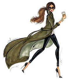 28 ideas for fashion drawing illustration pictures Fashion Art, Girl Fashion, Paper Fashion, Girls Life, Fashion Sketches, Fashion Illustrations, Fashion Drawings, Illustration Fashion, Belle Photo