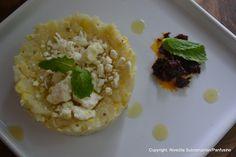 Day 247 - Sweet corn & arborio risotto with Feta & butternut oil