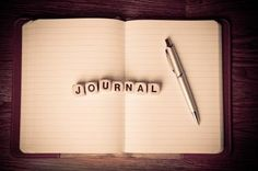 Journal and a pen
