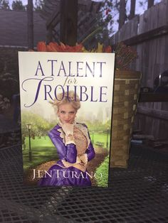 A Talent for Trouble by Jen Turano. Check out my #review here: http://spreadinghisgrace.blogspot.com/2016/10/my-bookshelf-talent-for-trouble-by-jen.html