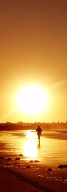 Por do Sol - Praia Flexeiras - Trairi