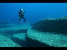 Yonaguni. A mysterious underwater pyramid structure in Japan may be 10,000 years old.